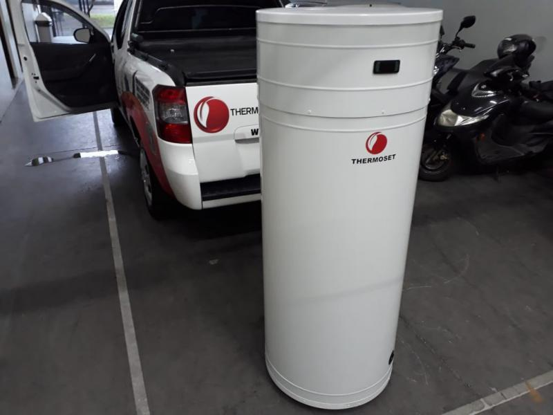 Sistema de aquecimento de agua