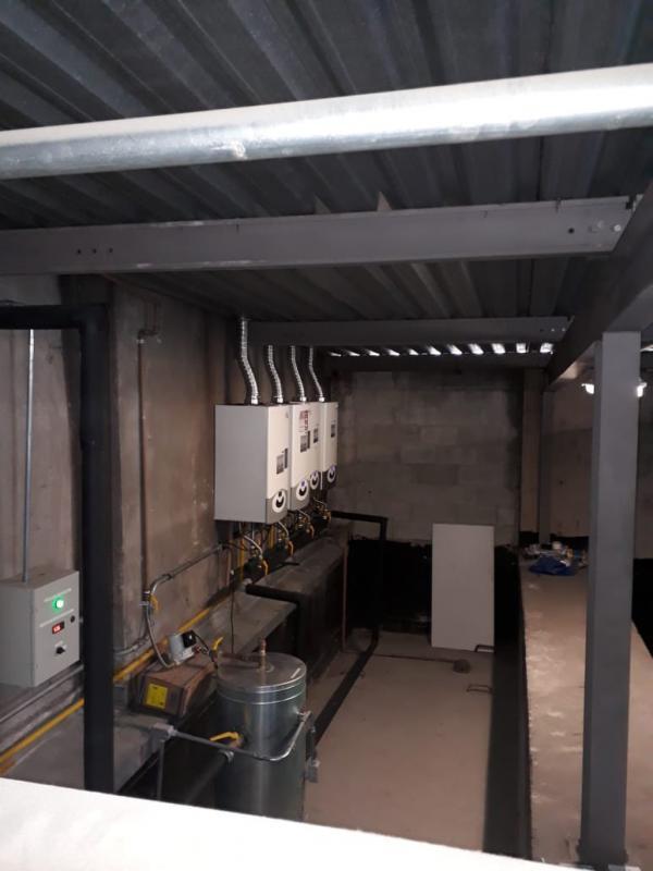 Sistema de aquecimento a gás