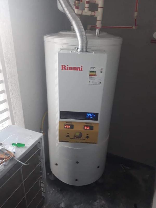 Sistema conjugado de aquecimento